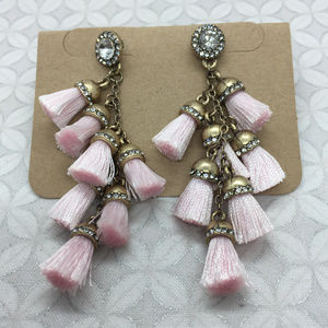 BaubleBar Firenze Fringe Drops Tassel earrings